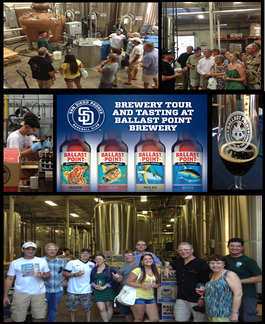 Ballast Point Brewery Tour and Tasting